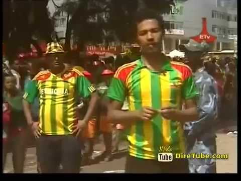 Ethiopian Football Fans @ The Stadium