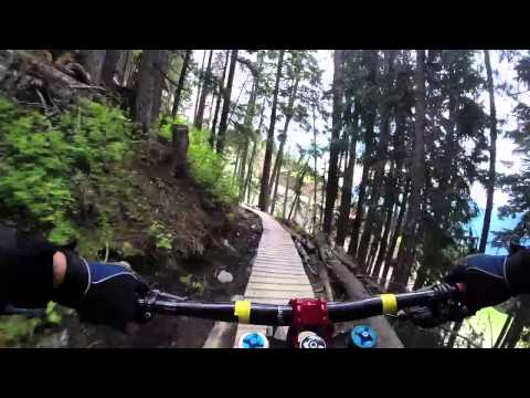 5 mins at Whistler Bike Park - July 2014