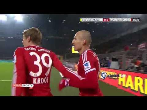 Borussia Dortmund vs Bayern Munich 0-3 /23-11-2013 / HD