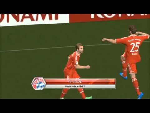 Bayern Munich Vs VfL Wolfsburg 6 1 All Goals & Highlights PES 08 03 2014 HD