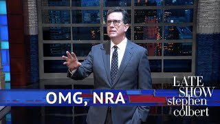 Stephen Asks God's Stance On The NRA