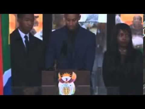 Nelson Mandela sign language interpreter (Fake interpreter)