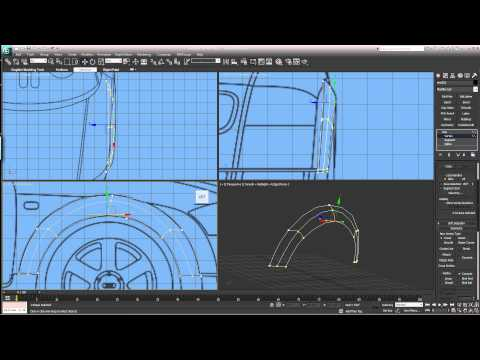 3DS Max spline modeling EASY Part 4