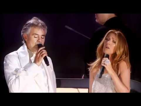 Andrea Bocelli & Celine Dion - The Prayer [Official Live Video]