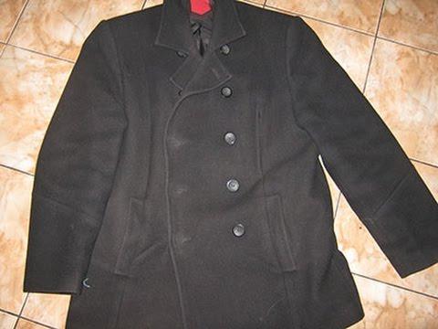 Стирка шерстяного пальто в домашних условиях