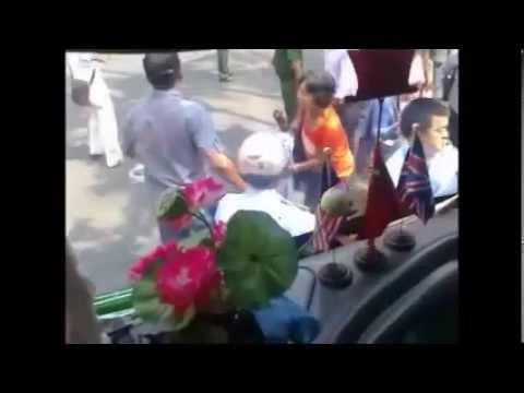 Dân oan miền Nam biểu tình  tại Sài Gòn ngày 26032014