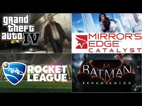 Random Games: Fail Montage and Pro Rocket League skills!