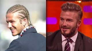 David Beckham's Crazy Haircuts