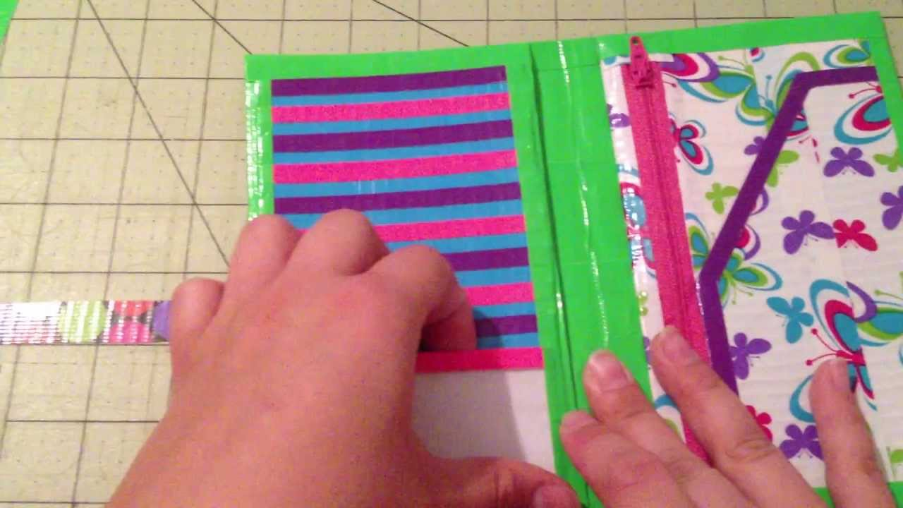 how to make a pocket protector out of duct tape