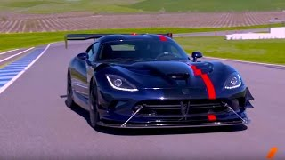 The 645-hp Dodge Viper ACR --  Test Drive. Drive Youtube Channel.