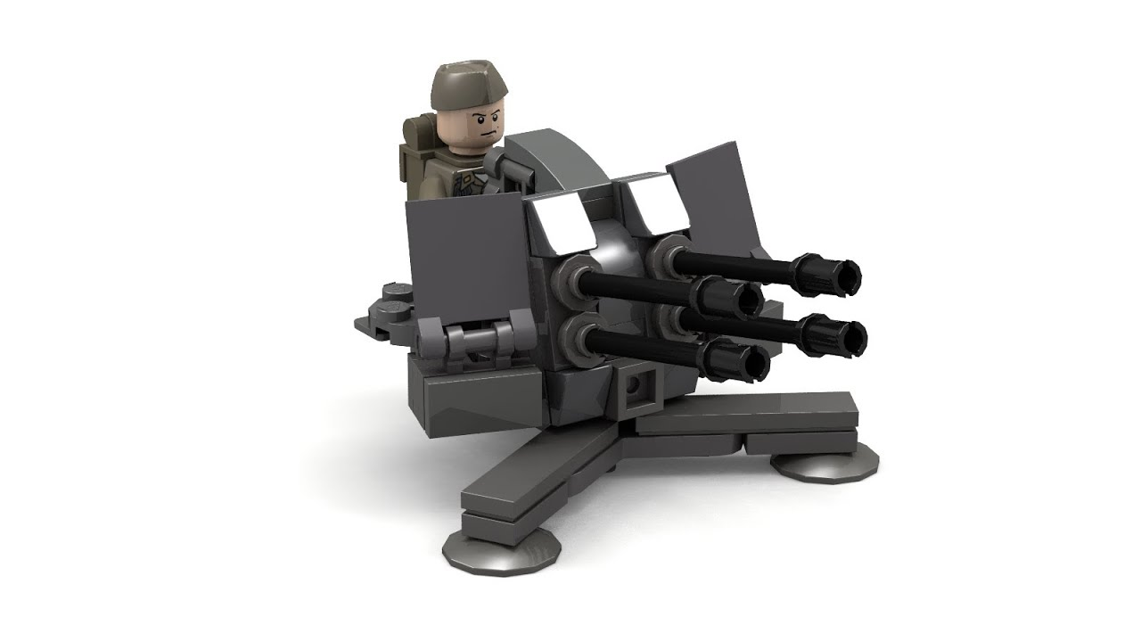 working lego gun instructions