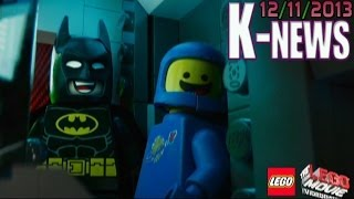 K-News Injustice Wii U DLC Plus LEGO Movie The Videogame