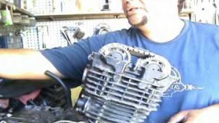 Instalar tensor hidraulico cadena de tiempo de una moto