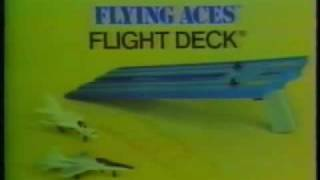 Mattel Flying Aces Toy TV Commercial 1975