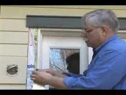 Uszczelnianie drzwi za pomocą pianki