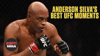 Anderson Silva's best career moments   ESPN MMA