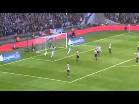 Manchester City vs Sunderland 3 1 Yaya Toure Goal Fantastic vs Sunderland ~ Gol HD 02 March 20142