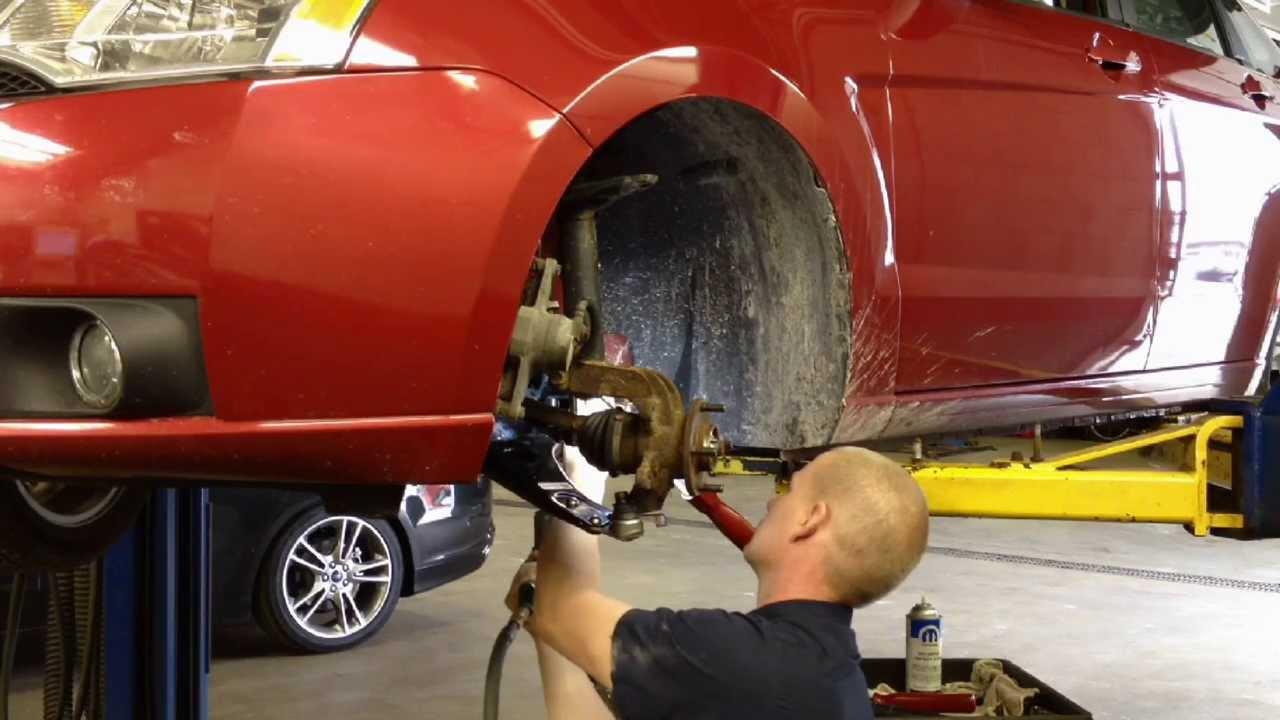 Ford Focus Suspension Rub  Creaking Noise Repair