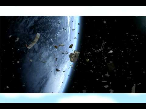 JAXA Space Junk Magnet Net For Clear Skies