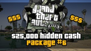 GTA 5 Easy $25,000 Sixth Hidden Package #6 Location