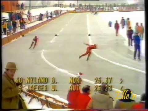 Olympic Winter Games Sarajevo 1984 – 1500 m Nyland – Jäger