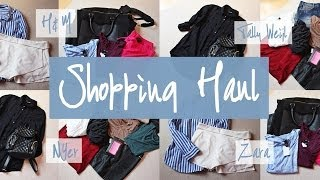 MrsFashionKitchen – Sale Shopping Haul – H&M, Zara, New Yorker, Tally Weijl
