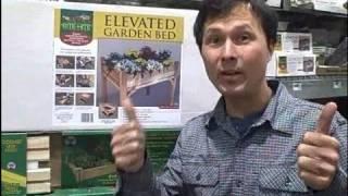Waist Height Raised Garden Kit & New Organic Seeds At Home