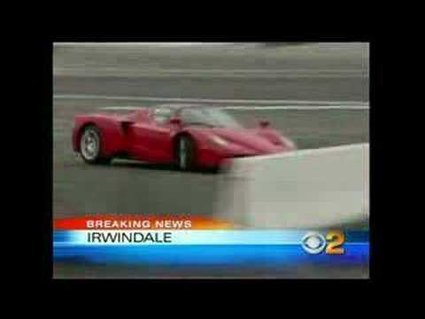 Eddie Griffin Ferrari Enzo Crash 8