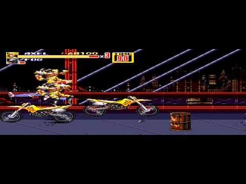 Streets of Rage 2 - Streets of Rage 2 Levels 1-2 - User video