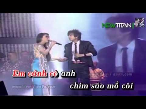 Karaoke Chim Trắng mồ côi song ca (Trinh Nữ)