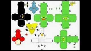 Como Hacer Angry Birds De Papel (IMAGEN)