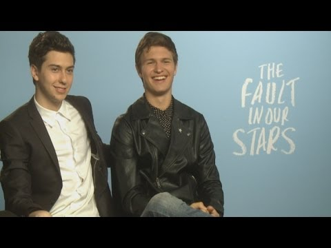 CUTE INTERVIEW: The Fault In Our Stars' Ansel Elgort and Nat Wolff talk romance and Shailene Woodley