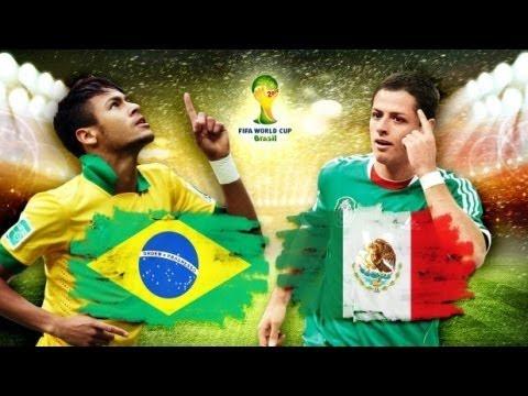 Brazil vs Mexico: Điệu Samba lỗi nhịp World Cup 2014 ( 02h ngày 18/06)