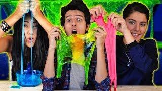 Como hacer slime - moco artificial