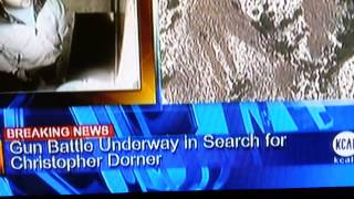 "Christopher Dorner Shootout Cops Say ""Burn It Down"