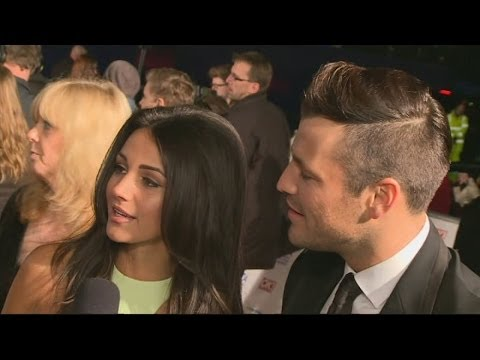 Michelle Keegan and Mark Wright talk wedding plans at NTAs 2014