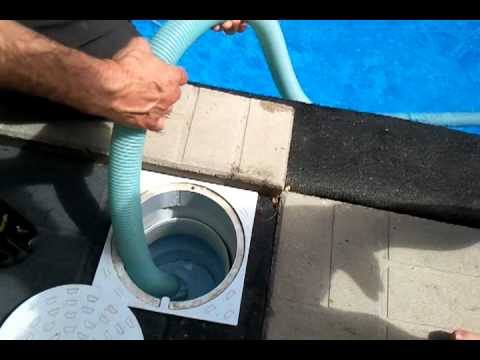 from Jensen hook up pool vacuum to skimmer