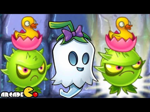 Plants Vs Zombies 2: Big Wave Beach Homing Thistle Ghost Pepper Arthur's Challenge