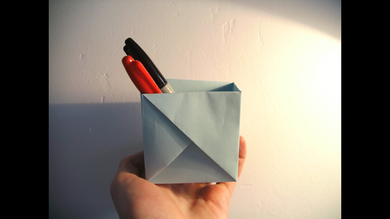 Origami Box - YouTube - photo#13