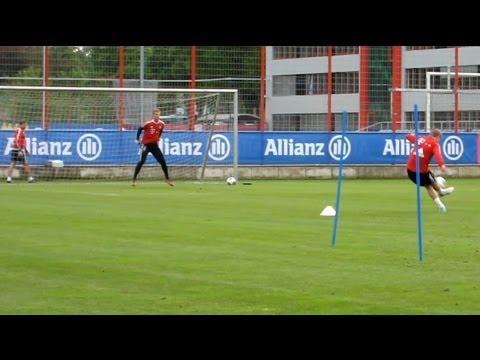 Dribblings and nice Goals - FC Bayern Munich - Robben Dante Badstuber Kroos Müller Boateng