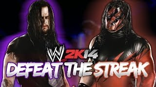 WWE 2K14 DEFEAT The Streak Mode W/ Retro Kane (Second