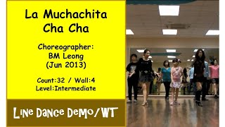 (Line Dance) La Muchachita Cha Cha {Dance & Walk Thru