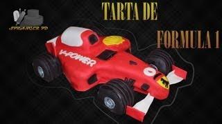Como Hacer Una Tarta De Coche De Formula 1