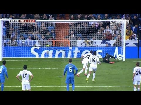 Real Madrid vs Olimpic Xativa 2-0 Al Goals 18.12.2013