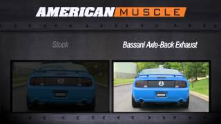 Mustang Bassani Axle-Back Exhaust (05-09 GT, GT500) Sound
