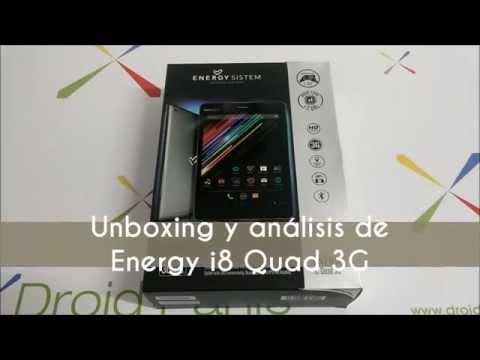 Unboxing y review del Energy i8 Quad 3G