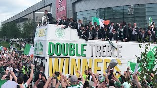Celtic Open Top Bus Parade 2018 4K