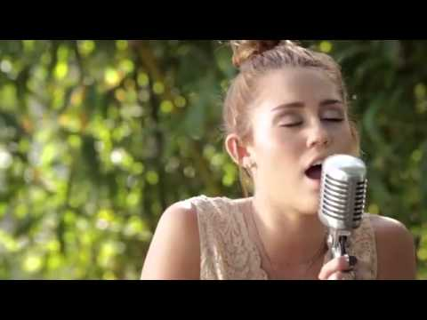miley cyrus the backyard sessions lilac wine youtube