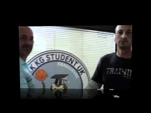 KG STUDENT - predstavljanje ekipe za sezonu 2010/11