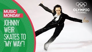 "Johnny Weir Skates to ""My Way"" at the Torino 2006 Winter Olympics 